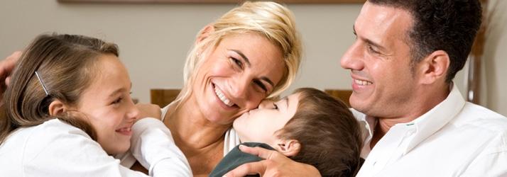 Chiropractic Denver NC happy-family